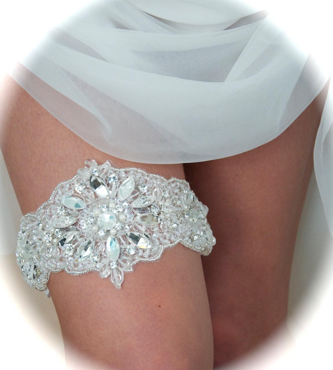 Wedding Garter Bride Garter Bridal Garter By