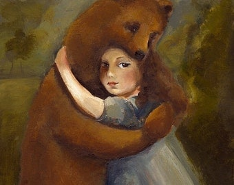 The Bear Archival Print