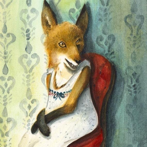 Fox Art - Mademoiselle