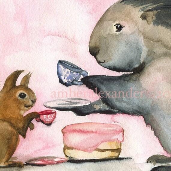 Tea and Cake - Print