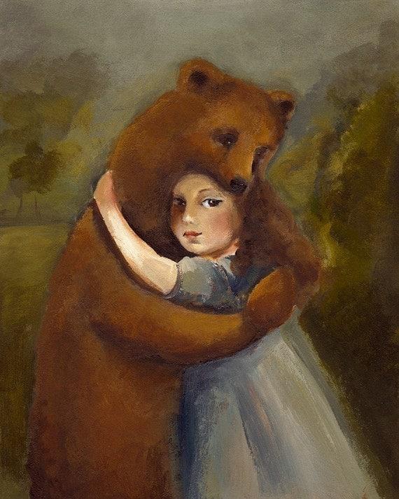 The Bear Archival Print