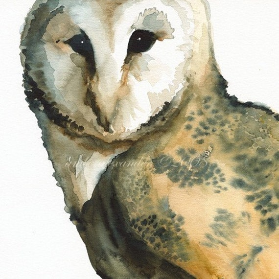 Owl Art - Mice On My Mind
