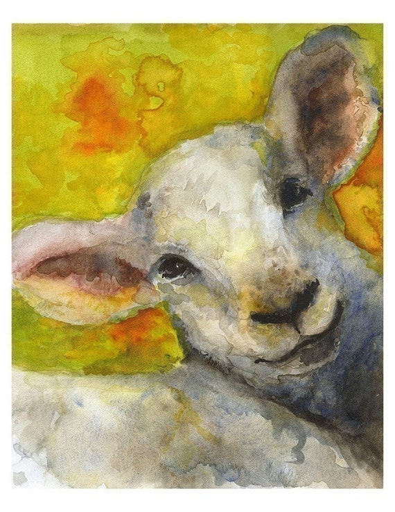 Spring Lamb, Nursery, children, farm