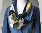 Upcycled Infinity Scarf