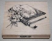 Inkadinkado - Holy Bible - wood mounted rubber stamp
