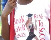 Book Lover tee African American
