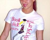 Book Lover Princess tee