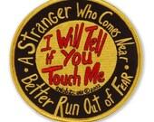 I Will Tell emblem..