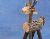 REINDEER, 12 inches tall, Twigs,  Willow,