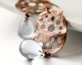 Invidia earrings in trasparent