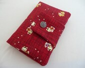 Kawaii kittens travel passport wallet/ holder with coin compartment