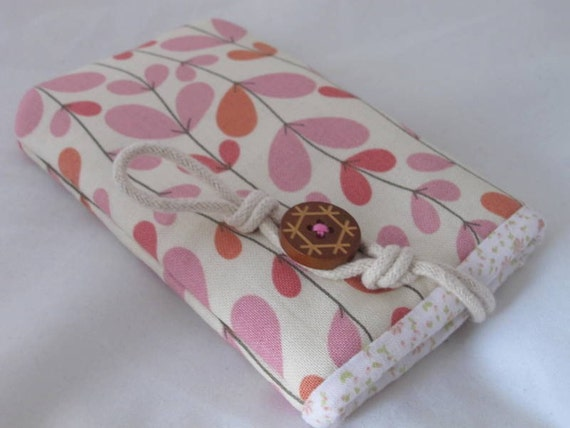 Candy pink  iPhone/ Samsung mobile pouch wallet