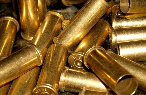 bullet shell casings used casings for jewelry making and altered art  brass metal bullet shell casings hunting shooting