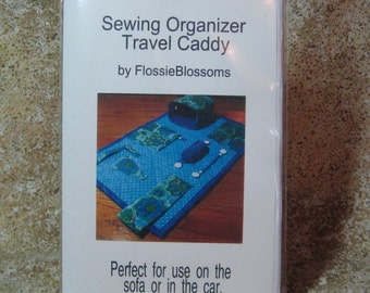 Pattern for Sewing Organizer Sofa Armchair Travel Full Sized Pieces Instructions,3 Clasps INCLUDED