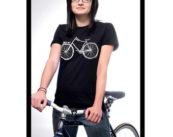 Way To Go Since 1817 Bicycle Ladies Tshirt (SMALL)