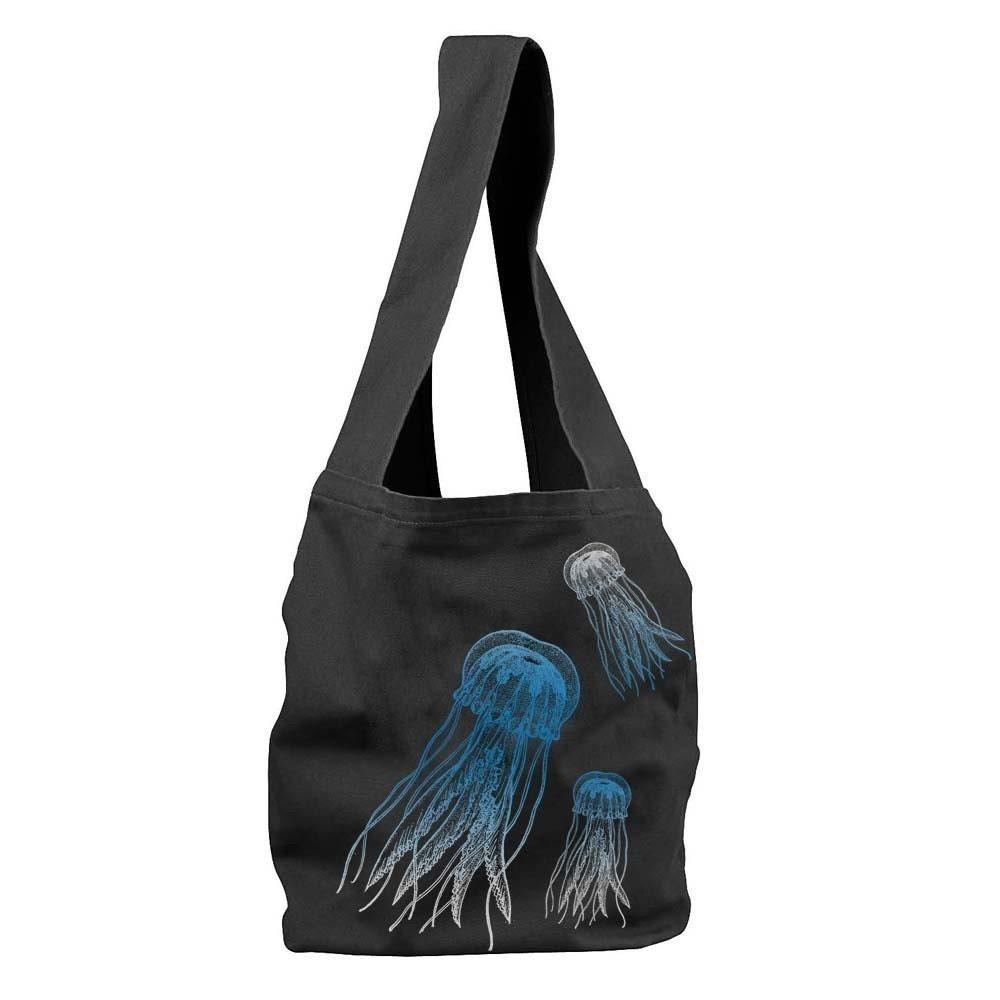 Jellyfish Sling Tote Bag
