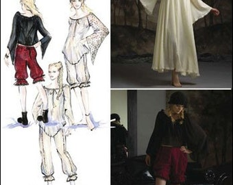 Simplicity 2777 Pantaloons,Sleepwear-Steampunky (Abby of Ncis) Night gown Early 19th Century-Plus Size