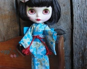 Kimono style outfit for Blythe doll
