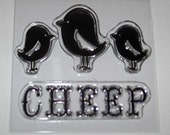 Clear Stamp Set - Chicks Cheep  CLEARANCE