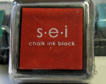 SEI Mini Ink Pad for Stamping - TOMATO