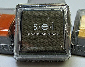 SEI Mini Ink Pad for Stamping - BARK