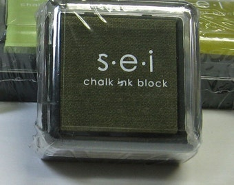 SEI Mini Ink Pad for Stamping - PINE