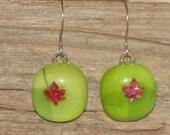 Fused Maple Earrings