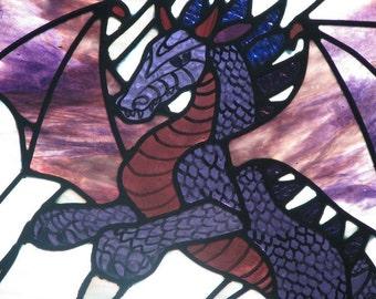 Vhagar- Purple Dragon