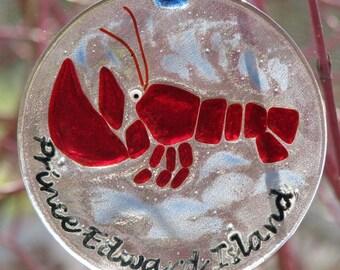 PEI Lobster Suncatcher