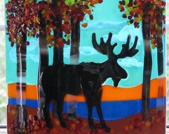 Glass Moose Panel II