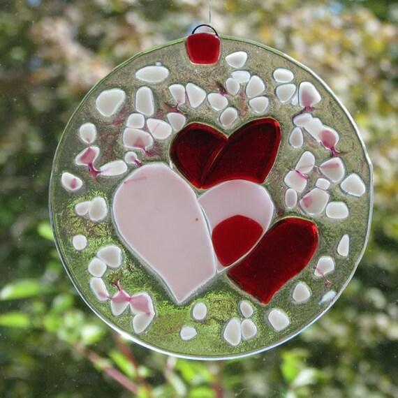 Valentine Hearts Sun-catcher