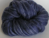 Roving Top Fiber Merino SILK Bamboo Wool ELECTRIC AVENUE 50 25 25 PhatFiber March Spin Felt Nuno Craft 4 ounces