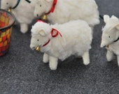 Woolfelt christmas sheep