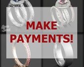 Make payments on your Laurie Sarah Custom Designer Jewelry - Down Payment