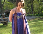 flUttEr bY bUttErflY handmade hippie dress by PEACED TOGETHER