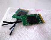 RAM computer chip hair pins