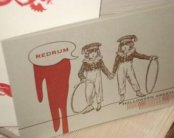 Red Rum - letterpress greeting