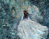 french pale blue ballerina violet turquoise white long vintage gown dreamy girl