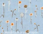 Wildflowers in Blue - Heather Ross Far, Far Away, Chapter 3 - Half Yard