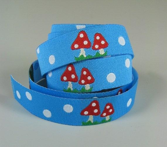 Toadstools - Farbenmix Ribbon - 1 yard