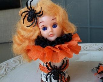 Halloween Decoration Arachnid Queen: A Vintage Halloween decoration  TVAT Halloween ornament