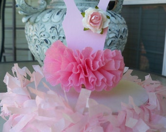 Ballerina Tutu Cake Topper for Birthday Party