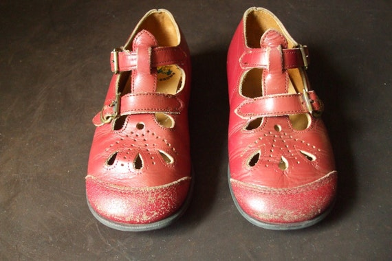 Buster Brown Toddler T Strap Double Buckle Little Girls Shoes