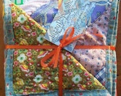 Uniquilt - Upcycled Patchwork - Crazy-Quilted