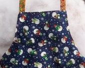 Christmas Baby Apron - 6 months