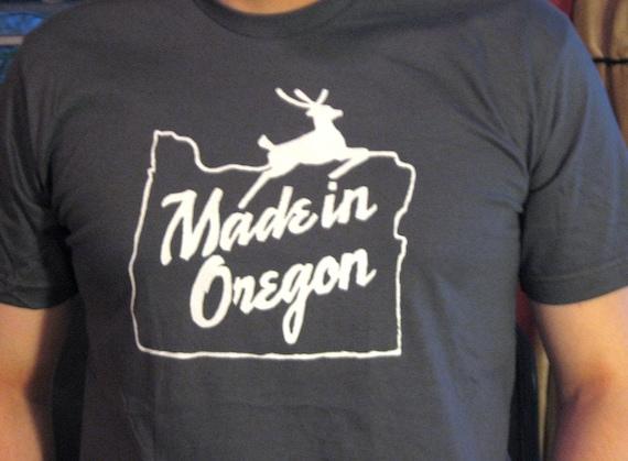 Made in Oregon T-shirt, Men's/Unisex