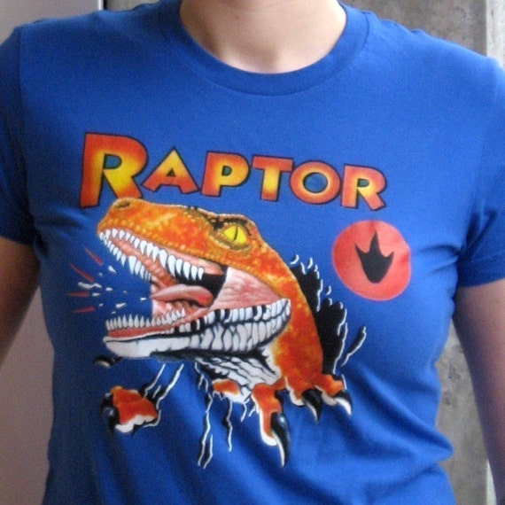 Raptor T-shirt from Ghost World, Women's