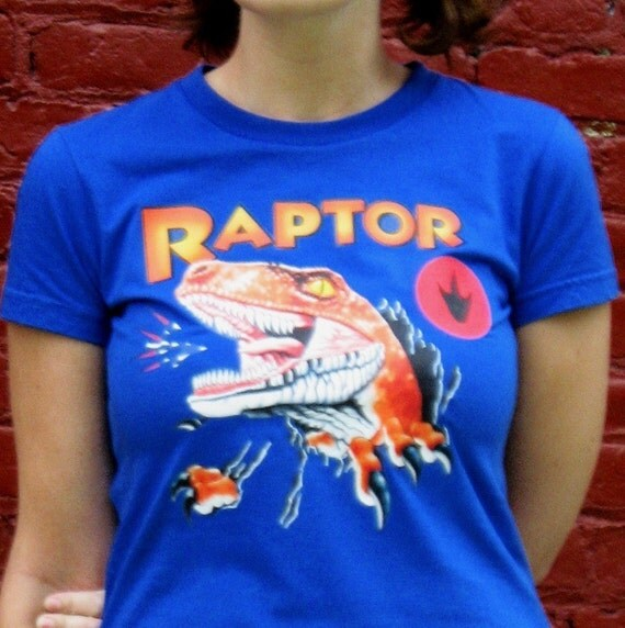 Raptor T-shirt from Ghost World