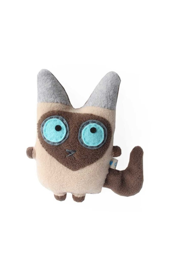 Squishy Nose Cat : Blue Mink Tonkinese cat by hamster on Etsy