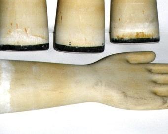Porcelain Glove Mold Industrial Hall China Company Rare